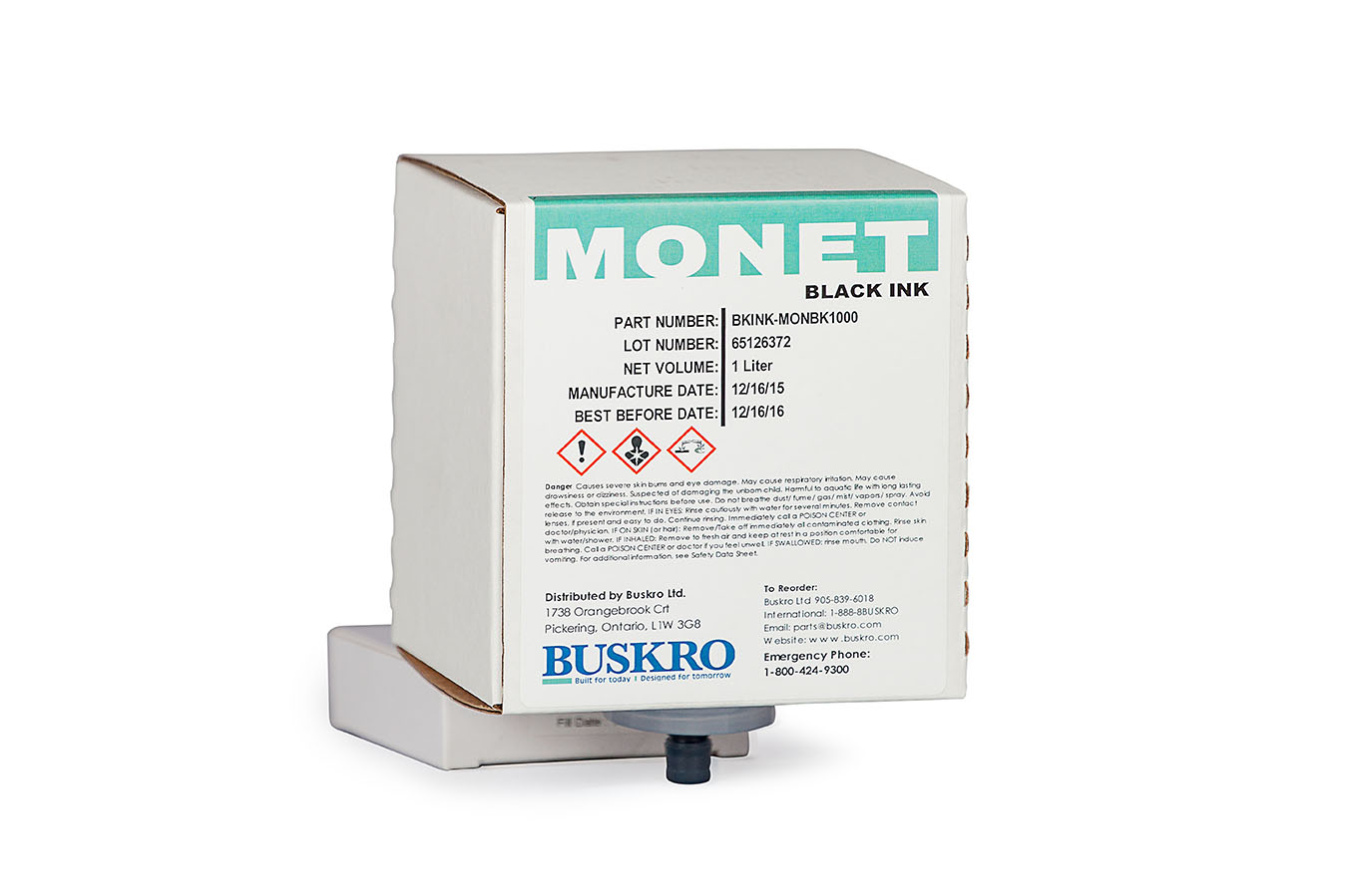 Buskro Monet Black Ink